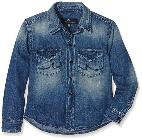 LTB Jeans Mini Ryder, Camicia Bambino, Blau (Hina Wash 2166), 13 Anni