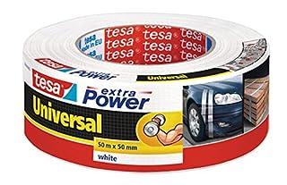 TESA 56389-00002-06 Cinta americana, 50 m x 50 mm, color blanco, (B000KTBE9M) | Amazon Products
