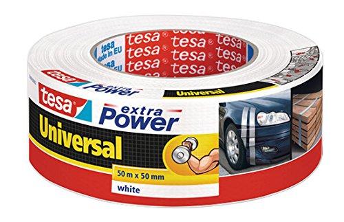 Tesa, 56389-00002-06 extra Power, Nastro adesivo universale in tessuto, (Tessuto Nastro Adesivo)