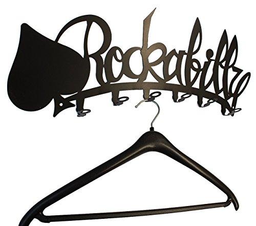 Wandgarderobe / Garderobe * Rockabilly * - Garderobenhaken - Flurgarderobe - 6 Haken