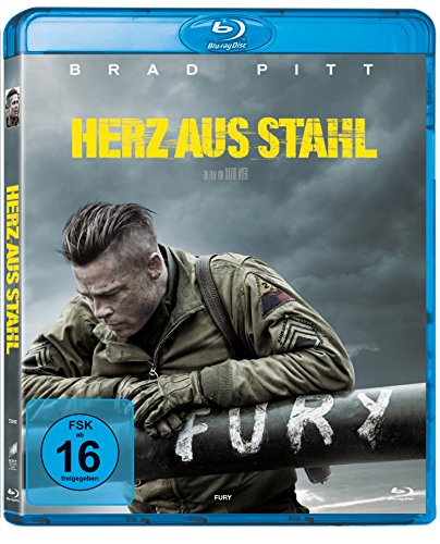 Fury - Herz aus Stahl [Blu-ray] (Fury Film-dvd)