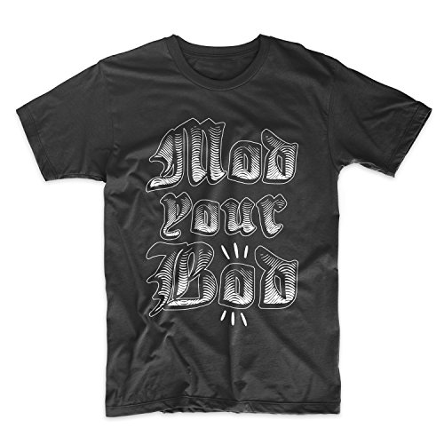 Mod Your Bod Herren T-Shirt Schwarz