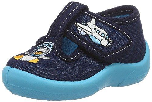 fischer-baby-jungen-mini-krabbel-hausschuhe-blau-atlantik-21-eu
