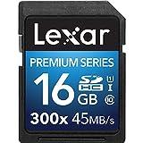 Lexar Premium II 300X 16GB SDHC U1 Scheda di memoria - LSD16GBBEU300