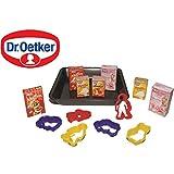 Backblech mit Dr. Oetker Produkten, Ausstechförmchen | Kaufladen Zubehör Backblech Kaufmannladen Spielküche Zubehoer