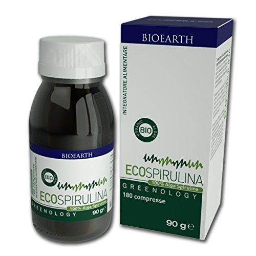 SCONTO 20% BIOEARTH ECO - SPIRULINA greenology 180 cps