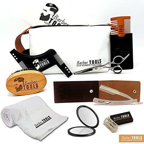 BARBER TOOLS  Kit / Set / Estuche de arreglo y...