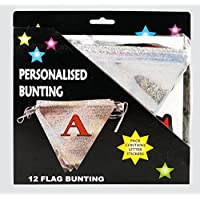 Personalised 12 Flag Name Birthday Bunting