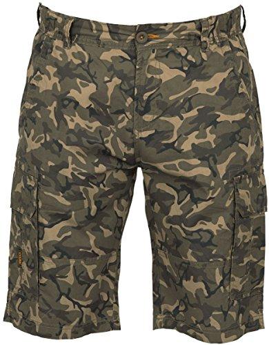 Fox Chunk Lightweight Cargo Shorts Camo - Hose, Angelhose kurz, kurze Hose zum Angeln, Anglerhose , Größe:L