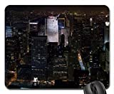 New York Midtown Skyline at night Mouse Pad, Mousepad