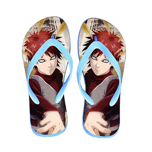 Bromeo Naruto Anime Unisex Flip Flops Zehentrenner Flip Pantoffeln 312
