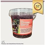 Pezuñas Glitter Caballos - gel para el cuidado de los cascos con aroma y brillo para el cuidado de los cascos Premium 500 ml