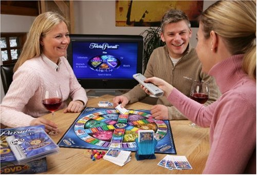 Hasbro - Parker - Trivial Pursuit DVD Brettspiel