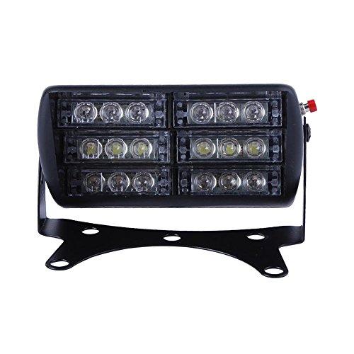 Starnearby 18 LED de voiture voyant clignotant Strobe lampe d'urgence Flash Dash lumière