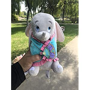 Cute Dumbo Baby Swaddle Elephant Stuff Animal Plush Toy Doll, Baby Kids Toys Regalo De Cumpleaños, para Recién Nacido Cute Animal Baby 21Cm