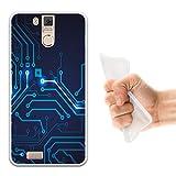 Oukitel K6000 Pro Hülle, WoowCase Handyhülle Silikon für [ Oukitel K6000 Pro ] Rundgang Handytasche Handy Cover Case Schutzhülle Flexible TPU - Transparent