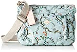 Oilily Damen Groovy Shoulderbag Shz Schultertasche, Türkis (Light Turquoise), 9.0x18.0x22.0 cm