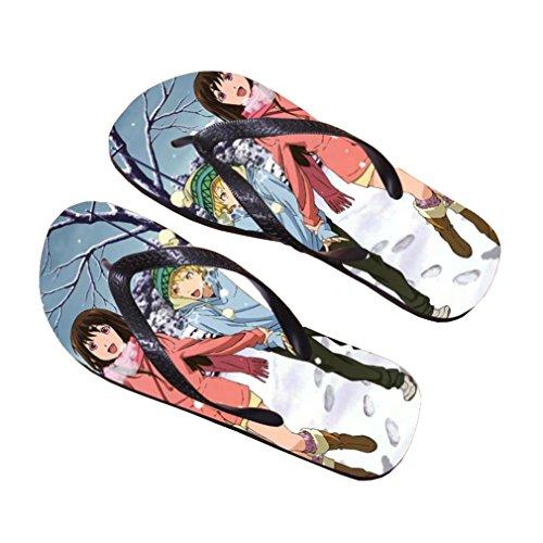 Bromeo Noragami Anime Unisexe Flip Flops Tongs 514