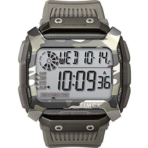 Uhr Timex Command Shock 54mm Grau TW5M18300