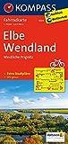 Elbe - Wendland - Westliche Prignitz: Fahrradkarte. GPS-genau. 1:70000 (KOMPASS-Fahrradkarten Deutschland, Band 3024)