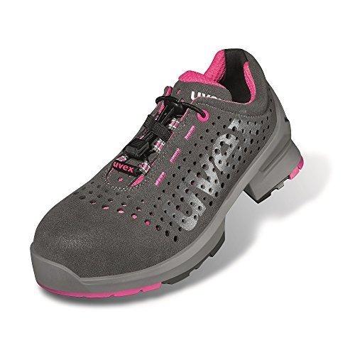 uvex sandale de sécurité dames uvex 1 S1 sans métal, très léger, divers Types et Tailles - Uvex 8561, 38 Uvex 8561