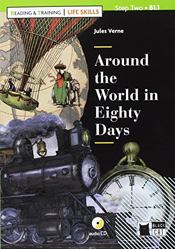 Around the world in eighty days. Con App. Con CD-Audio