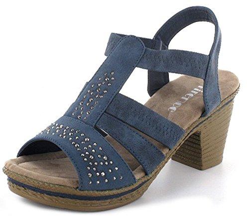 IDANA Chaussures GmbH 11,039062, bleu marine Bleu - Bleu