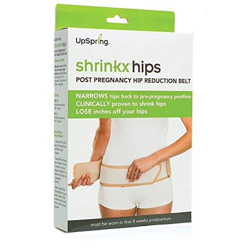 UpSpring Baby Shrinkx Hips Extremer Postgeburtsverdichtungsriemen Nackt - XS/S -
