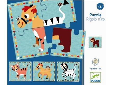 Puzzle Rigolo et cie Djeco