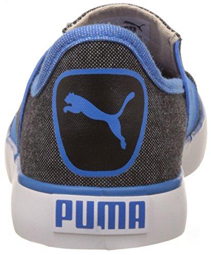 830ec2348de ... Puma Unisex Lazy Slip On II DP Black and French Blue Sneakers - 3 UK   ...