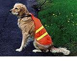 Warnweste HUND SICHERHEITSWESTE reflektierende STREIFEN Hundeweste