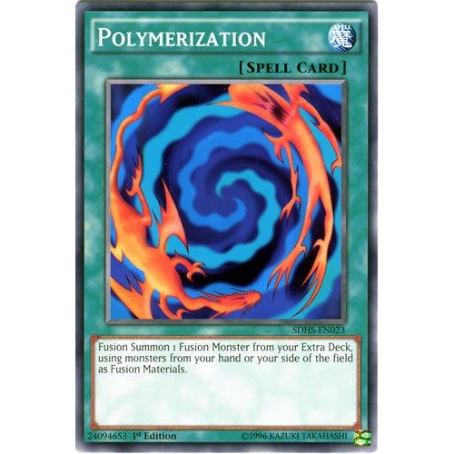 Yu Gi Oh : SDHS EN023 1st-Ed polymérisation cartes communes (héros Strike Yu-Gi-Oh Cartes simples)