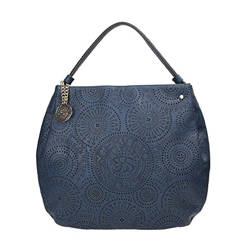 SCERVINO Street Large Hobo Bag PAULINE Blue
