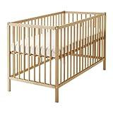 Ikea SNIGLAR–Kinderbett, Buche–60x 120cm