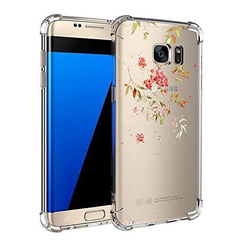Samsung Galaxy S7 / S7 Edge Hülle Silikon Pacyer® cover Bumper Case TPU Schutzhülle [Ultra Dünn] Stoßfest Flexibel Gel Kratzfest Schlank Anti-Scratch Anti-Rutsch Handyhülle (4, Galaxy S7 Edge)