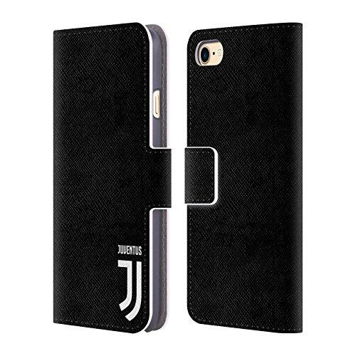 Offizielle Juventus Football Club Logotype Lifestyle 2 Brieftasche Handyhülle aus Leder für Apple iPhone 6 / 6s Klar