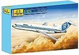 Heller 80447 - Modellino da Costruire, Aereo Boeing 727, Scala 1:125 [Importato da Francia]