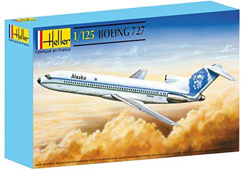 heller-80447-modellino-da-costruire-aereo-boeing-727-scala-1125-importato-da-francia