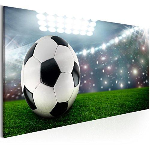 murando - Bilder Sport Fussball 100x45 cm Vlies Leinwandbild 1 TLG Kunstdruck modern Wandbilder XXL Wanddekoration Design Wand Bild - Fußball i-C-0123-b-a