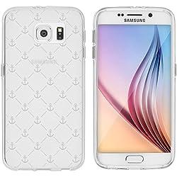 'Samsung Galaxy S Carcasa de licaso® TPU protege tu S 5,1Protección de Móvil Transparente Clara silicona Style–Funda, silicona TPU, ancla, Samsung Galaxy S6