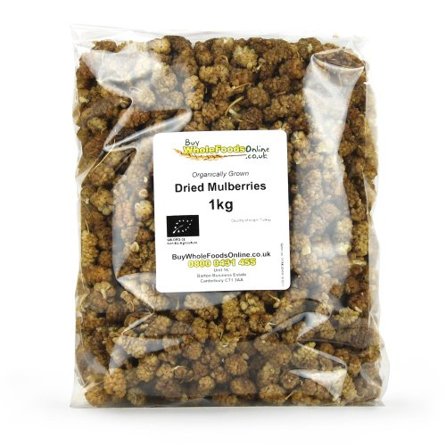 Price comparison product image Organic Dried Mulberries 1kg