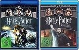 Harry Potter und die Heiligtümer des Todes Teil 7.1+7.2 [4 Blu-ray]