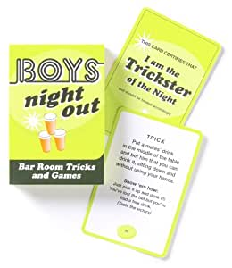 Nookii Boys Night Out Game