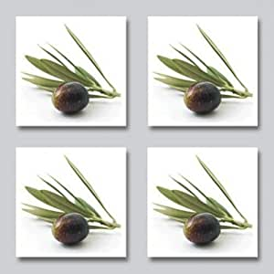 fliesenaufkleber olive kachelsticker k che mediteran 10x10 cm italien. Black Bedroom Furniture Sets. Home Design Ideas