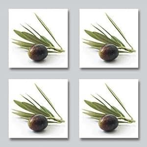 fliesenaufkleber olive kachelsticker k che mediteran 10x10 cm italien. Black Bedroom Furniture Sets. Home Design Ideas