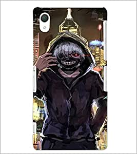 PrintDhaba Scary Face D-4231 Back Case Cover for SONY XPERIA Z2 (Multi-Coloured)