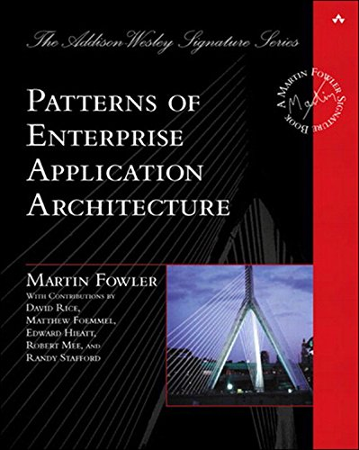 Patterns of Enterprise Application Architecture: Pattern Enterpr Applica Arch (Addison-Wesley Signature Series (Fowler)) (English Edition) por Martin Fowler