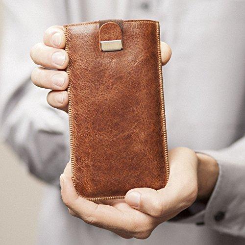 Housse en cuir pour LG Q6 étui cover coque case pour pochette en mousse