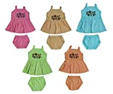 MAMAS CARE Cotton Dress Set for Baby Girls