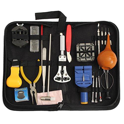 bismarckbeer 22Armbanduhr Reparatur Kits Fall Opener Link Pin Entferner Spring Bar Hammer Werkzeug Set